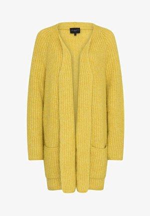 Cardigan - dark yellow