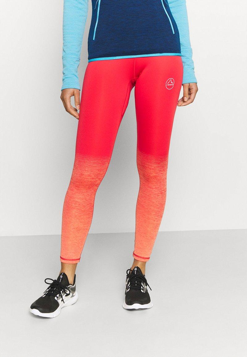 La Sportiva - PATCHA LEGGINGS - Collants - hibiscus/flamingo