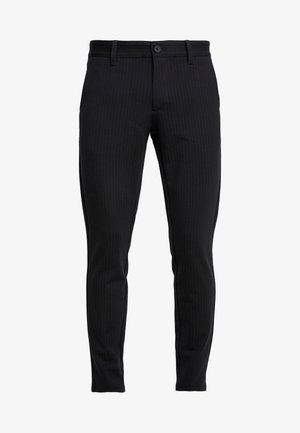 ONSMARK PANT STRIPE - Pantaloni - black