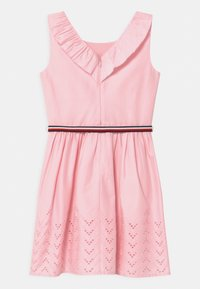 Tommy Hilfiger - SHIFFLEY HEM DRESS - Day dress - pink breeze - 1