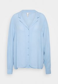 Nly by Nelly - THE BLOUSE - Button-down blouse - blue - 0