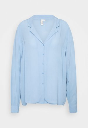 THE BLOUSE - Button-down blouse - blue