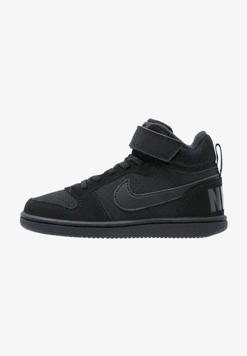 Nike Sportswear - COURT BOROUGH  - Sneakersy wysokie - black