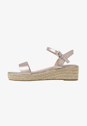 RHIANNA 2 PART - Espadrillot - pewter