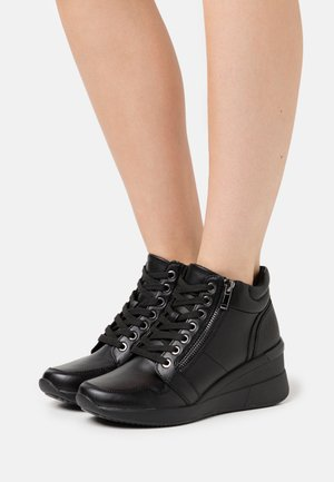LIBYAN - High-top trainers - black