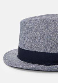 Burton Menswear London - TEXTURE TRILBY SMART - Sombrero - navy - 3