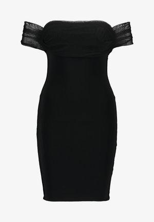 BARDOT MINI DRESS - Cocktail dress / Party dress - black
