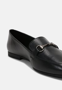 Anna Field Wide Fit - LEATHER - Mocassins - black - 5
