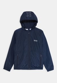 BOSS Kidswear - WINDBREAKER - Lehká bunda - navy - 0