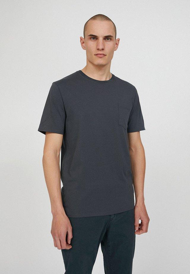 Basic T-shirt - acid black
