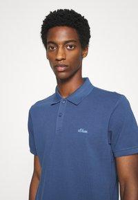 s.Oliver - KURZARM - Polo shirt - dark blue - 4