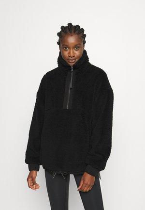 APPLETON - Fleece jumper - black