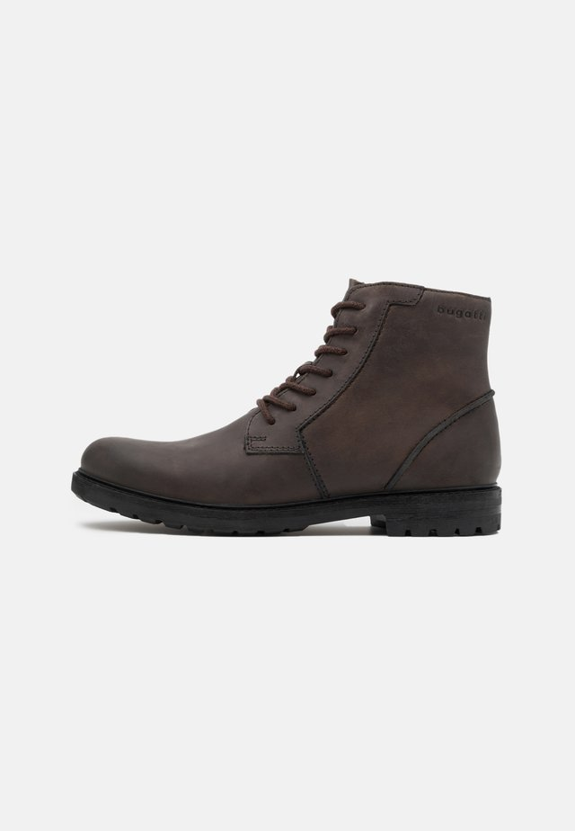 SILVESTRO EVO - Lace-up ankle boots - dark grey