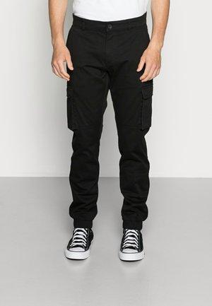 ONSCAM STAGE CUFF - Pantalon cargo - black