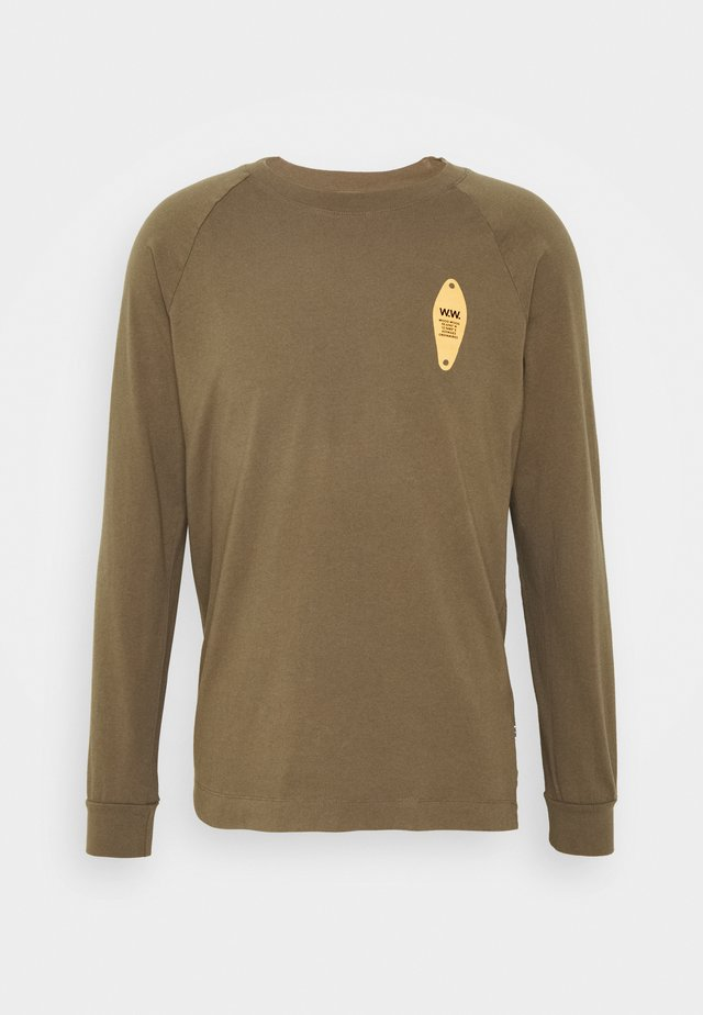 HAN LONG SLEEVE - Maglietta a manica lunga - dark green