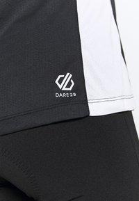 Dare 2B - OUTDARE  - Maglia da ciclista - black/white - 5