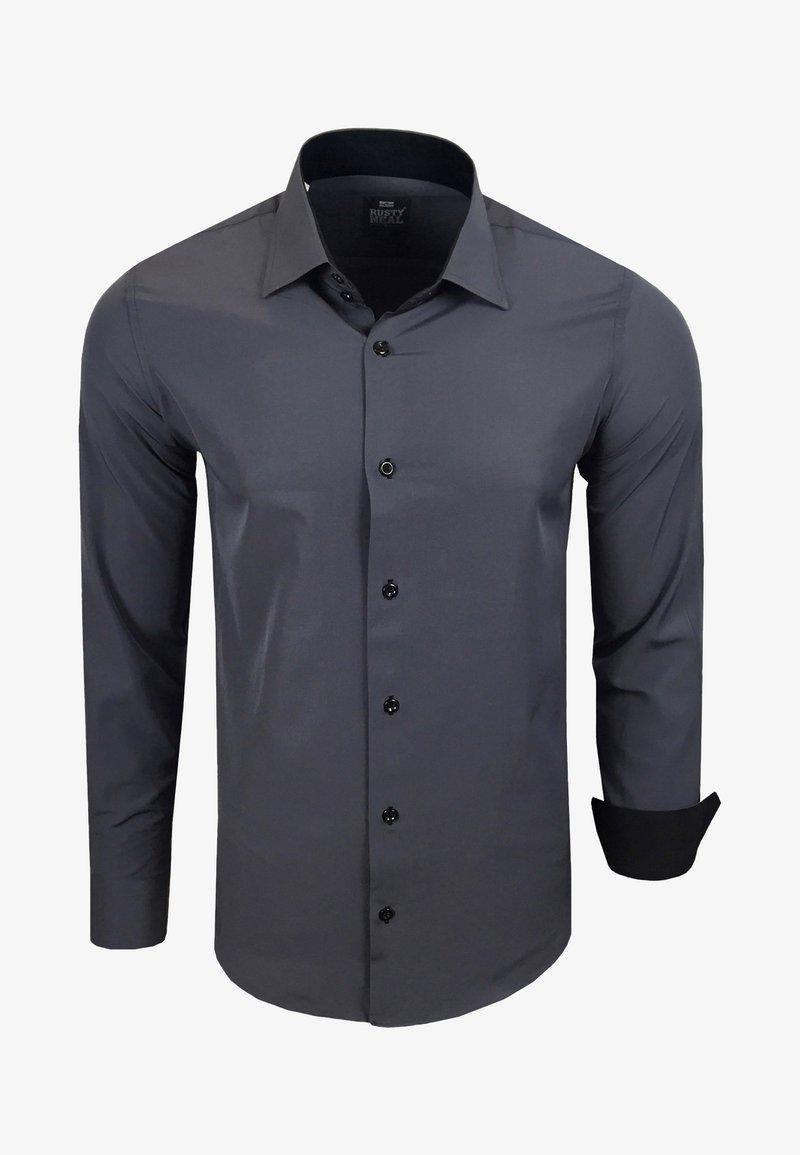 Rusty Neal - FREIZEIT-HEMD - Shirt - anthrazit