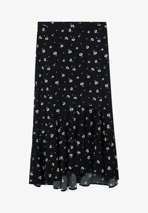 DANIELA - A-snit nederdel/ A-formede nederdele - zwart