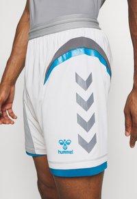 Hummel - HMLINVICTA GAME SHORTS - Sports shorts - gray violet/sharkskin - 5