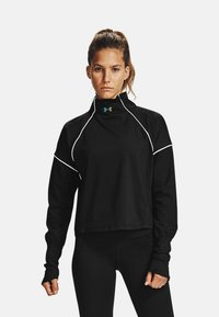 Under Armour - RUSH - Sports shirt - black - 0