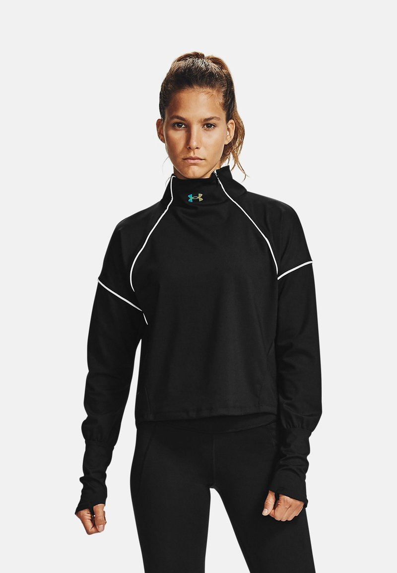Under Armour - RUSH - Sports shirt - black