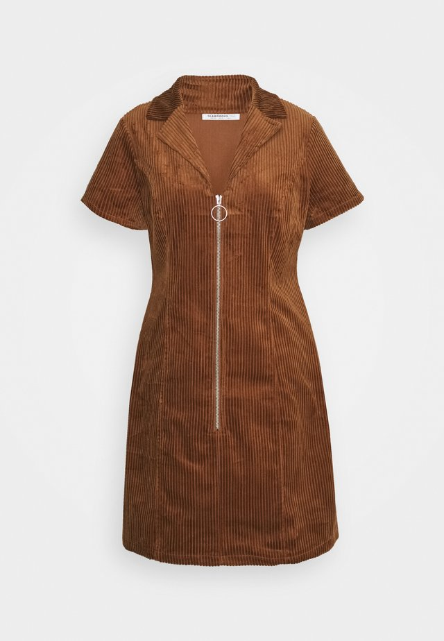 LADIES DRESS - Blousejurk - brown