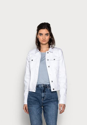 VMHOT SOYA JACKET - Denim jacket - bright white