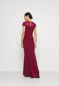 WAL G. - ELLE DRESS - Occasion wear - wine - 2