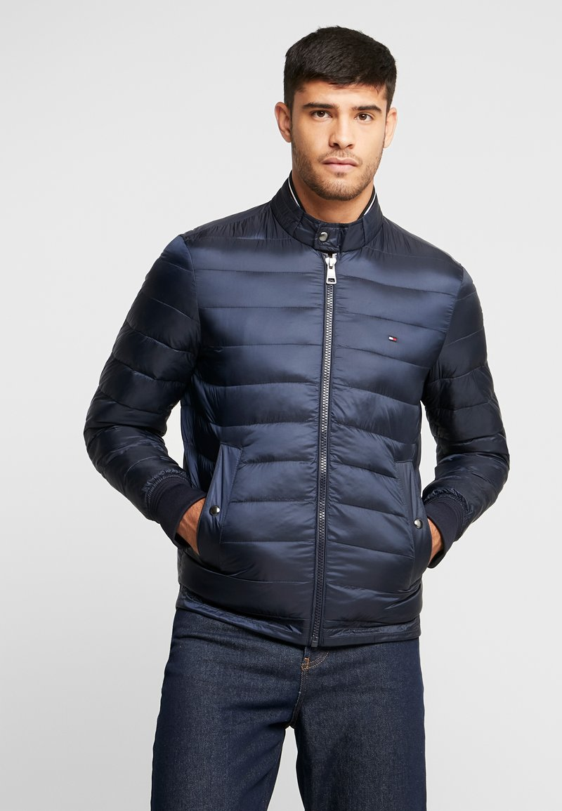 Tommy Hilfiger - ARLOS BOMBER - Light jacket - blue