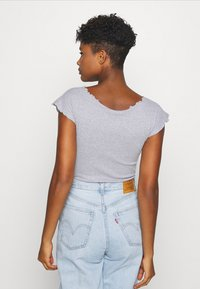 Missguided - 2 PACK - Body - black/grey - 3