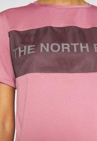 The North Face - Camiseta estampada - mesa rose - 8