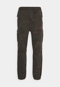 JOGGER COLUMBIA - Cargo trousers - camo provence rinsed