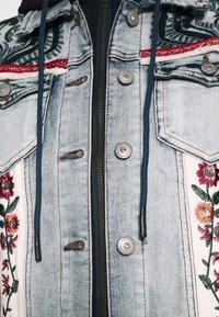 Desigual - CHAQ LIBERTE - Denim jacket - denim bleach - 5