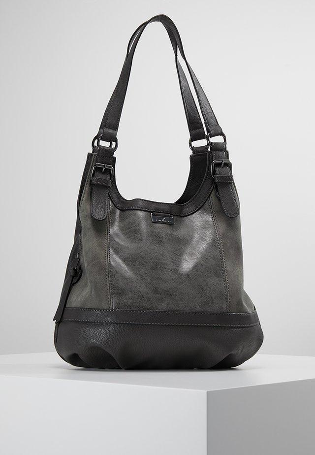 JUNA - Handbag - grau