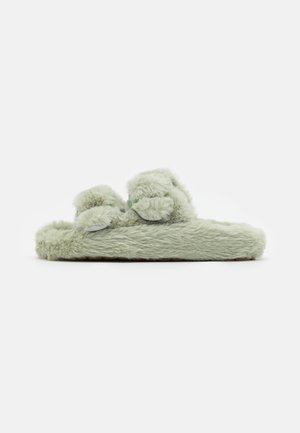 TWO BANDS SLIPPER - Domácí obuv - aqua
