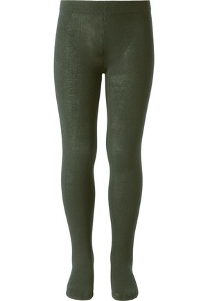 Leggings - Stockings - dark green