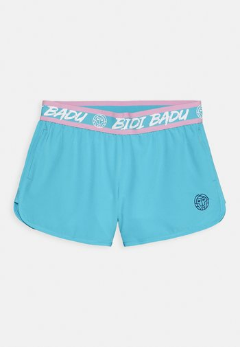 CARA TECH SHORTS UNISEX - Sports shorts - aqua/white
