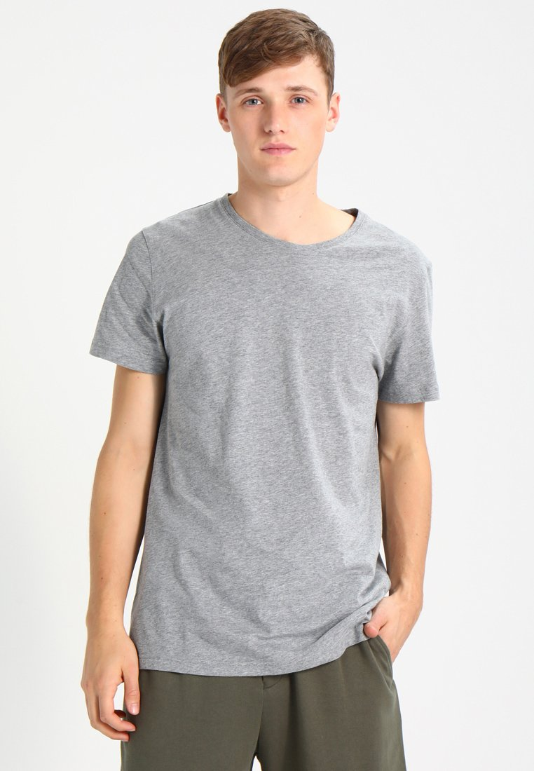 Resteröds - ORIGINAL ROUNDNECK - T-shirt - bas - grey