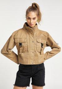 myMo - Summer jacket - dunkelsand - 0