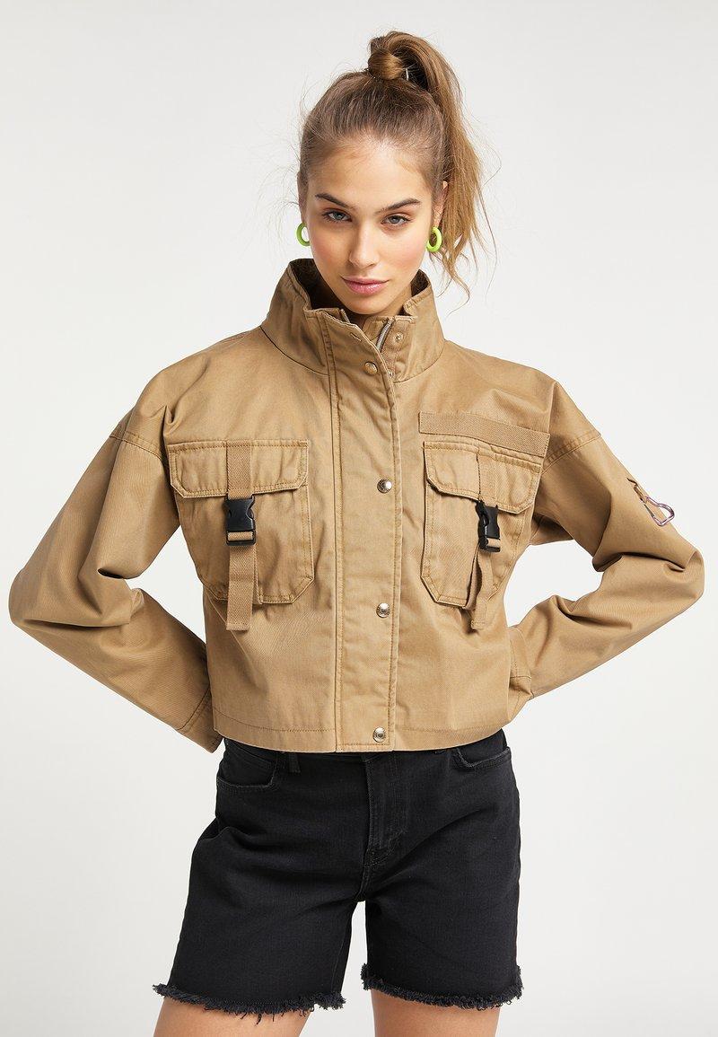 myMo - Summer jacket - dunkelsand