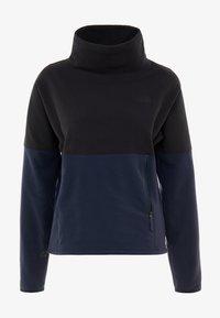 The North Face - GLACIER FUNNEL NECK - Fleece jumper - urban navy/black - 4