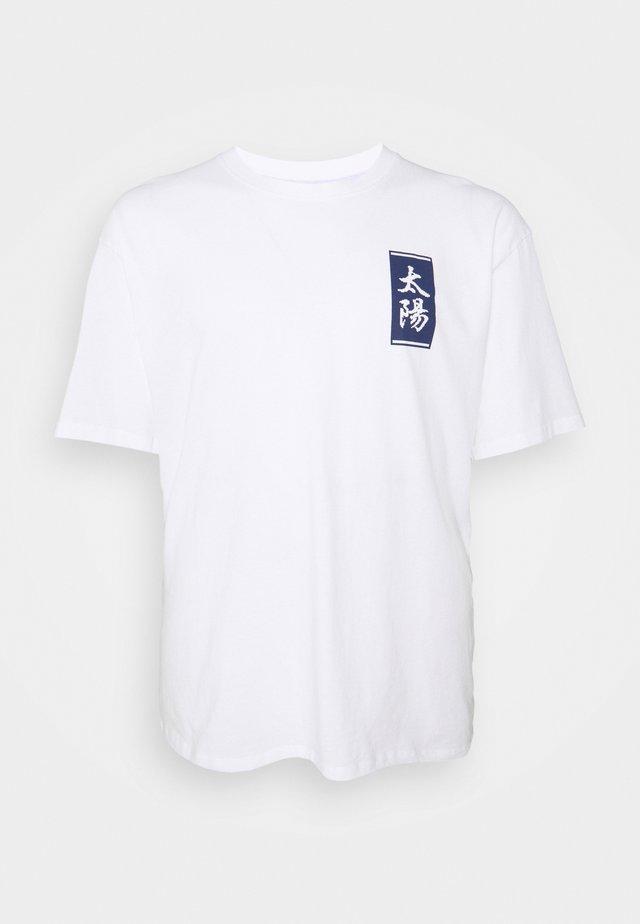 TAROT DECK - T-shirt imprimé - white