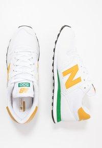 New Balance - 500 - Trainers - white/green/sunflower - 1