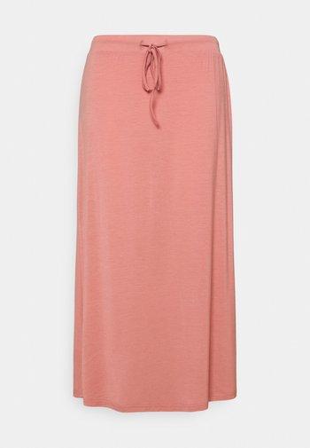 VMAVA ANCLE SKIRT - A-line skirt - old rose
