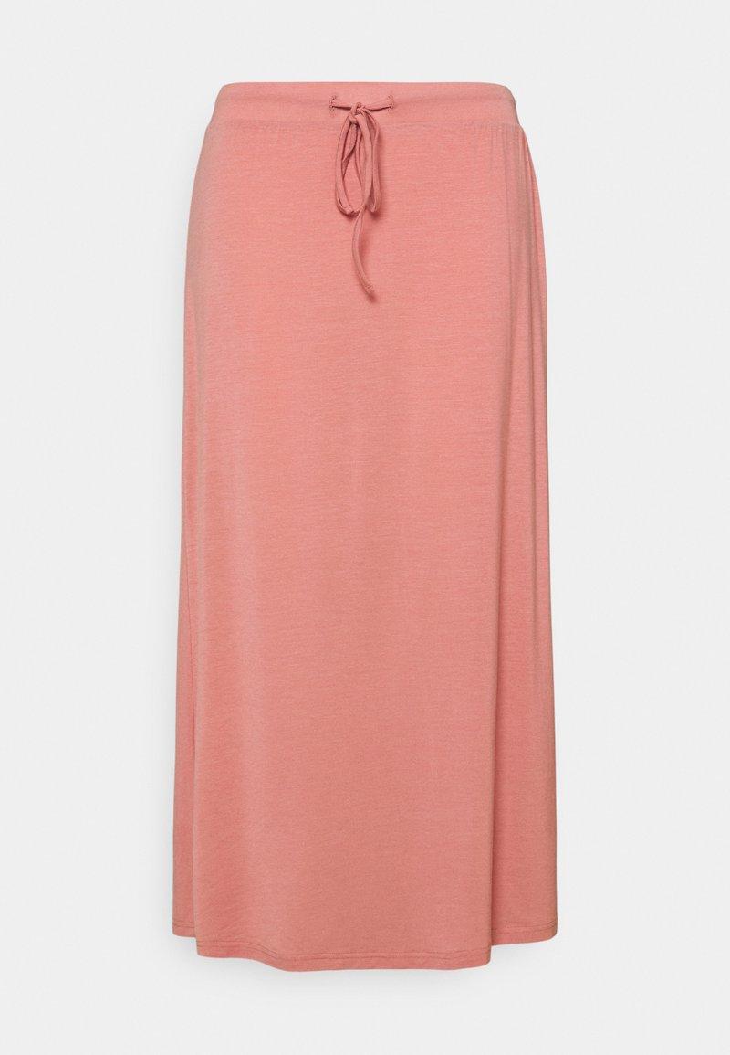 Vero Moda Curve - VMAVA ANCLE SKIRT - A-line skirt - old rose