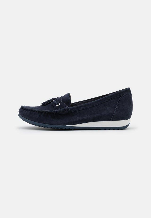Loafers - ocean