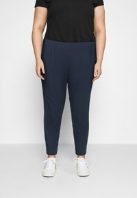 Dorothy Perkins Curve - Tracksuit bottoms - navy - 0