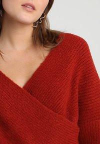 Even&Odd - Pullover - red - 4