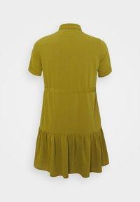 Simply Be - UTILITY SHIRT DRESS - Shirt dress - khaki - 6
