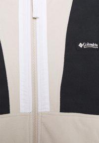Columbia - BACK BOWL™ LIGHTWEIGHT - Fleecejacka - black/dark stone/white - 2